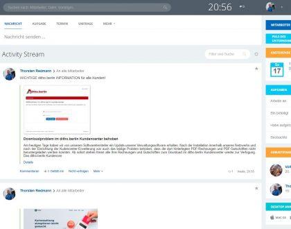ditho.berlin network startet sein eigenes Intranet