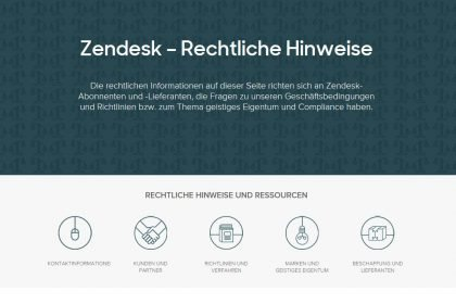 Zendesk-Multichannelsupport Rechtliche-Hinweise!