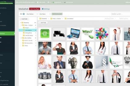Das neue komfortable Medienmanagement webCMS.plugin