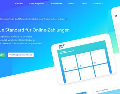 STRIPE - Neuer offizieller Payment-Dienstleister für webCMS.konzept Webseiten